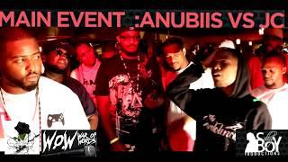 BLACK ROSE BATTLE LEAGUE ANUBIIS VS JC ( FLINT,MI ) War of Words