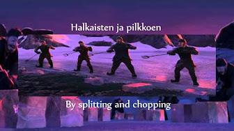 Frozen in Finnish - Frozen suomeksi