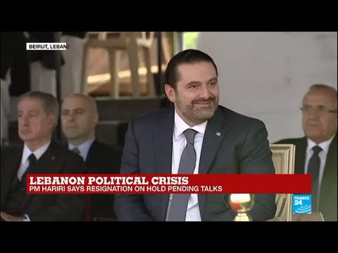 Lebanon: PM Saad Hariri puts resignation on hold pending talks