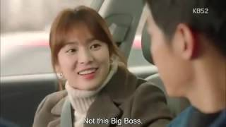 Download Video Descendants Of The Sun : 'Big Boss' the Dr Kang 's new car xD MP3 3GP MP4