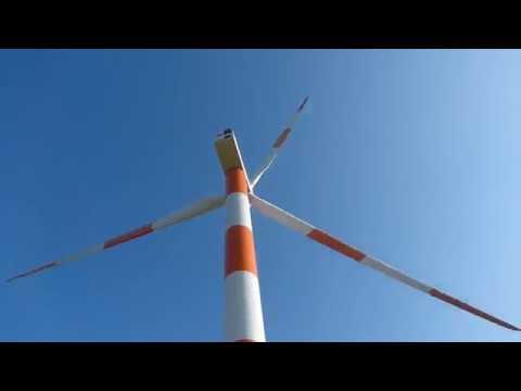 Electric generation on Mount Gilboa, Israel