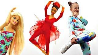 Барби и Мисти танцуют: Балет против Хип Хоп