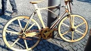wooden mechanical model