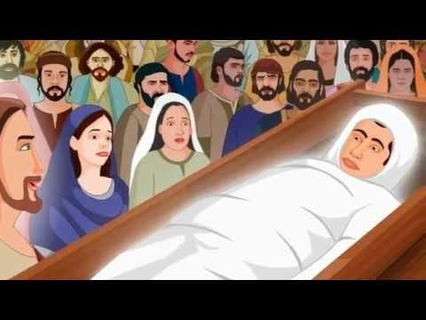 Jesus Raising The Widow's Son Animation Video