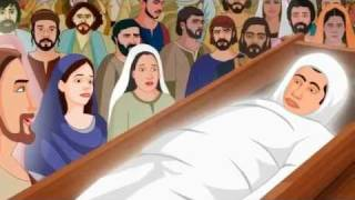 Jesus Raising The Widow's Son Animation Video