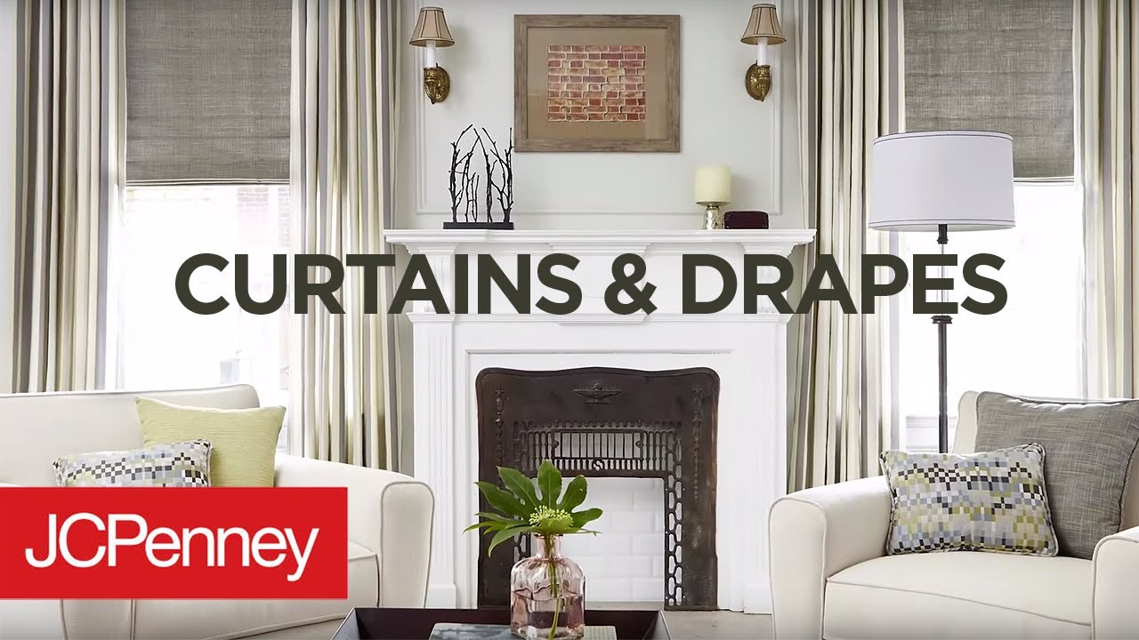 Jcpenney Curtains And Blinds.Choosing Curtains And Drapes Jcpenney Custom Decorating