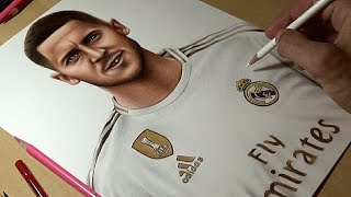 Drawing Eden Hazard - Real Madrid