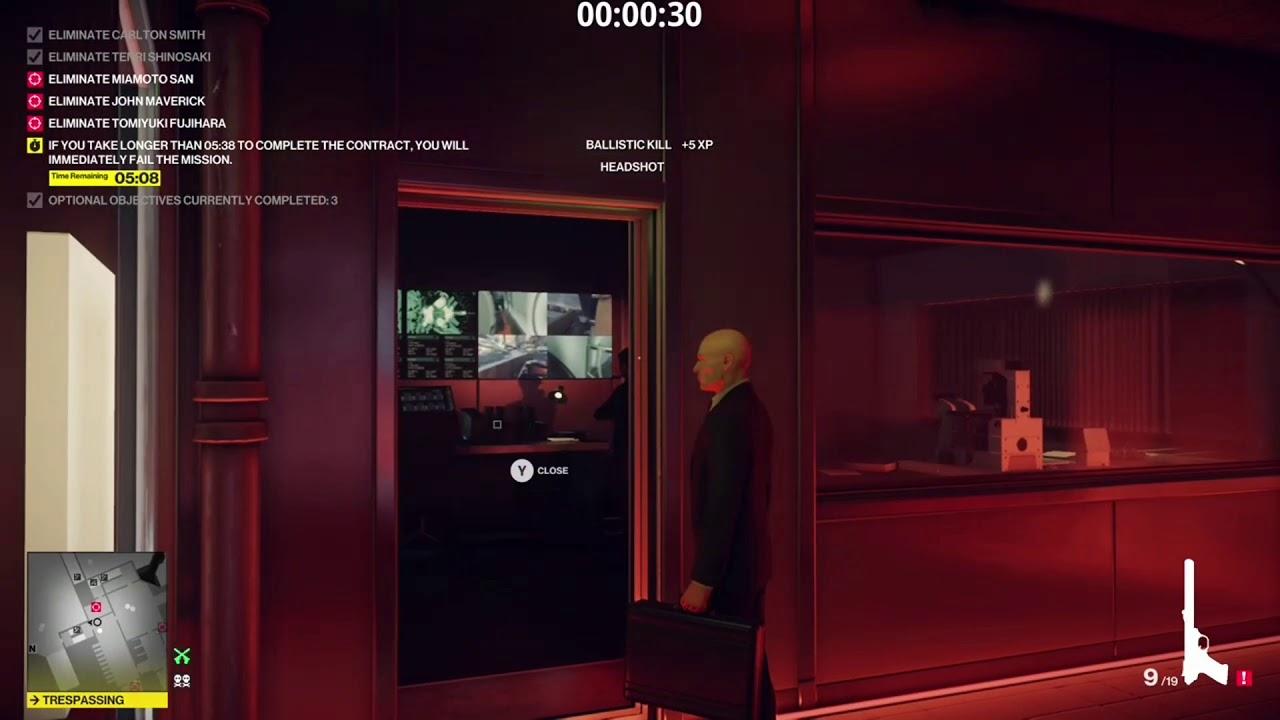 Hitman 2 - Contract - Get Ready To Rage - (SA/SO) (1:28)