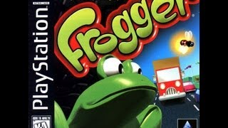 Frogger (PS1) Gameplay