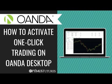 How to Activate One-Click Trading on OANDA Desktop