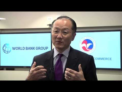 World Bank Group President Jim Kim on it's role in helping business in developing countries