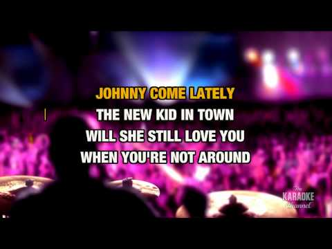 New Kid In Town : Eagles   Karaoke with Lyrics