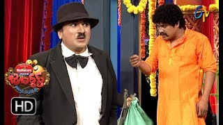 Rocket Raghava Performance | Jabardasth |  13th September 2018 | ETV  Telugu