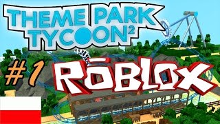 ROBLOX in English | Theme Park Tycoon 2 | Start! #01