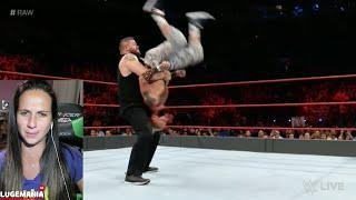 WWE Raw 9/26/16 KO Jericho vs Enzo Big Cass