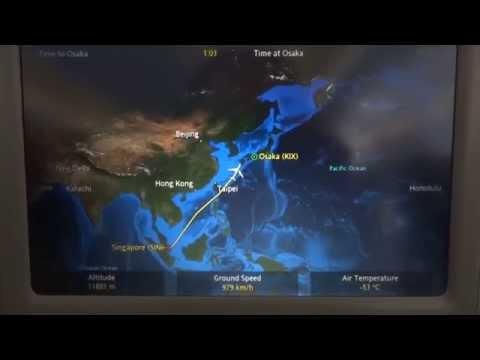 Singapore Airlines Flight 618, Singapore to Osaka