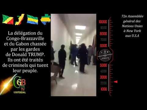 FAKE NEWS 2017: délégations du Congo-Brazzaville et du Gabon chassées par les gardes de D. TRUMP