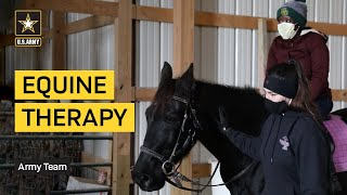 Behavioral Health Team Discusses Equine Therapy