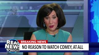 'Real News Tonight' Distracts Trump From The Comey Hearing