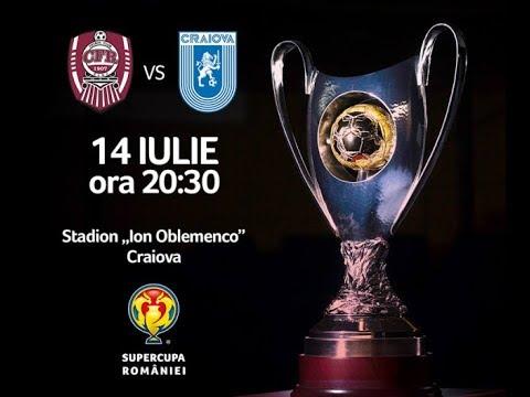 CFR Cluj - CS U Craiova karşılaşma önü   Cs U Craiova-cfr Cluj