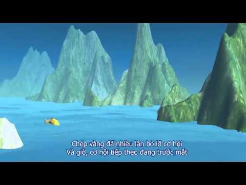cá chép hóa rồng phim hoạt hình 3D