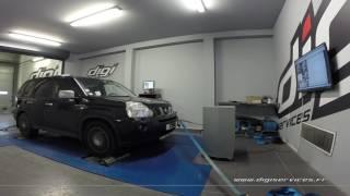 Nissan Xtrail 2.0 dci 150cv Reprogrammation Moteur @ 170cv Digiservices Paris 77 Dyno