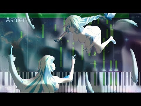 """Fate/Apocrypha Ending ~ フェイト/アポクリファ ED [""""Désir"""" by GARNiDELiA ] [Piano Synthesia Tutorial]"""