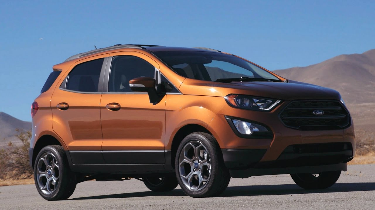 2018 ford ecosport ses drive interior and design youtube. Black Bedroom Furniture Sets. Home Design Ideas