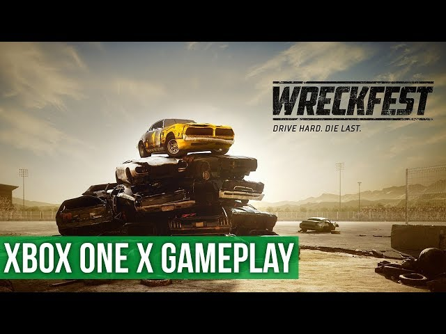 Wreckfest ► Xbox One X Gameplay / Preview