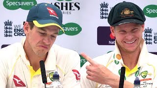 Tim Paine & Steve Smith Full Press Conference- England Level Series By Beating Australia At The Oval