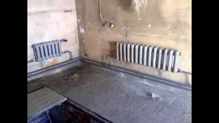 Отопление из стальных труб(В этом видео показана замена труб отопления с использованием регистров и чугунных радиаторов б/у., 2015-06-01T15:01:29.000Z)