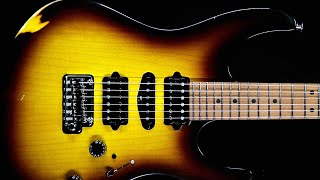 Cinematic Rock Ballad Guitar Backing Track Jam in B Minor