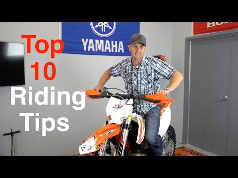 Top 10 Dirt Bike Riding Tips for Offroad and Enduro Dirt Bik
