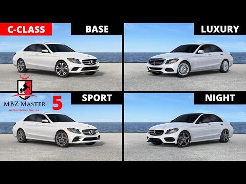 2017-2018 Mercedes C-Class Visual Differences Part 5: BASE vs. LUXURY vs. SPORT vs. NIGHT