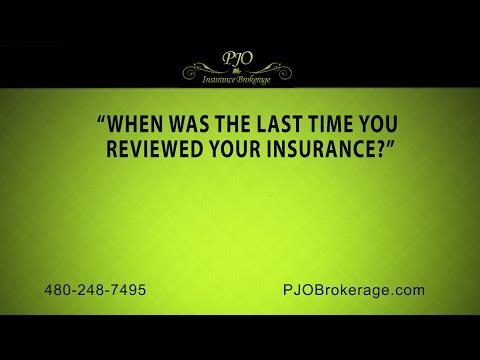 """""""When Was the Last Time You Reviewed Your Insurance?""""