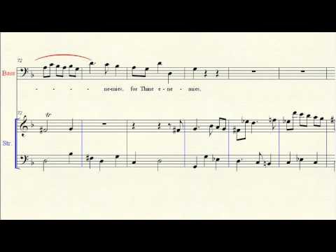 Accompaniment: Messiah 34 Thou Art Gone Up On High - Handel