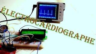 Électrocardiographe / Moniteur cardiaque / DIY Electrocardiograph