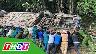 Vụ tai nạn 5 người chết ở Kon Tum: Tài xế khai do xe mất lái | THDT