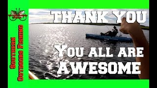 Grinding It Out After Storms and Meeting Subscribers Fishing