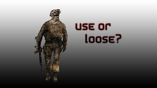 Use or Loose ?
