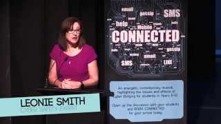 Leonie Smith - The Cyber Safety Lady on CONNECTED