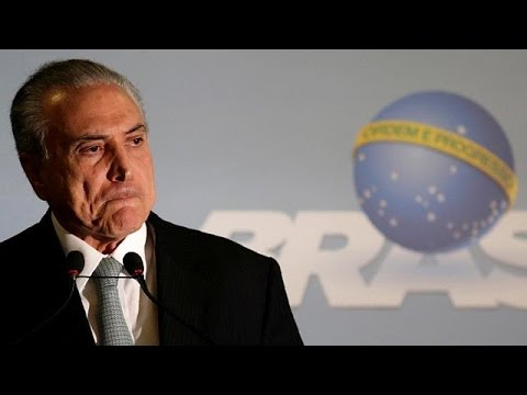 Brazil's Temer accused of corruption and obstruction of justice