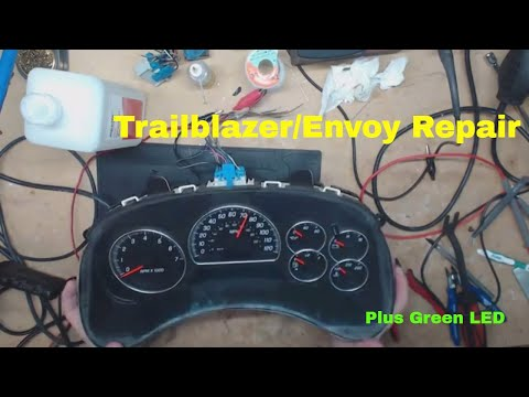 Envoy Or Trailblazer Instrument Cluster Repair 2002-2009