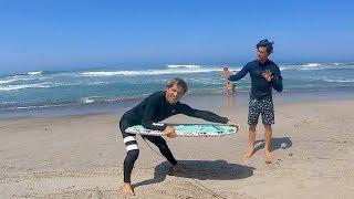 PUMP NG Lower Trestles And Kalani Robb Surfs A Bodyboard   Yadin Nicol  An Crane And More