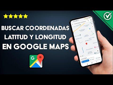 Cómo Poner o Buscar Coordenadas Latitud y Longitud en Google Maps en Android