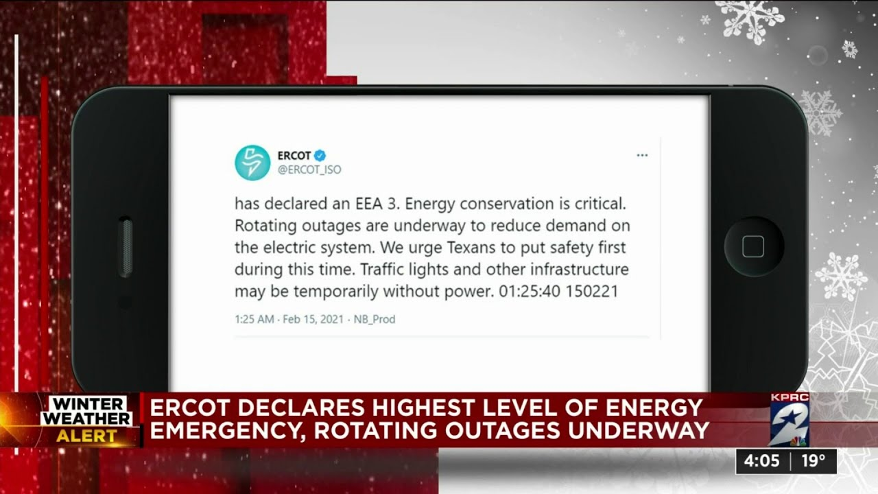 Update: Entergy to begin rotating outages to customers across ...