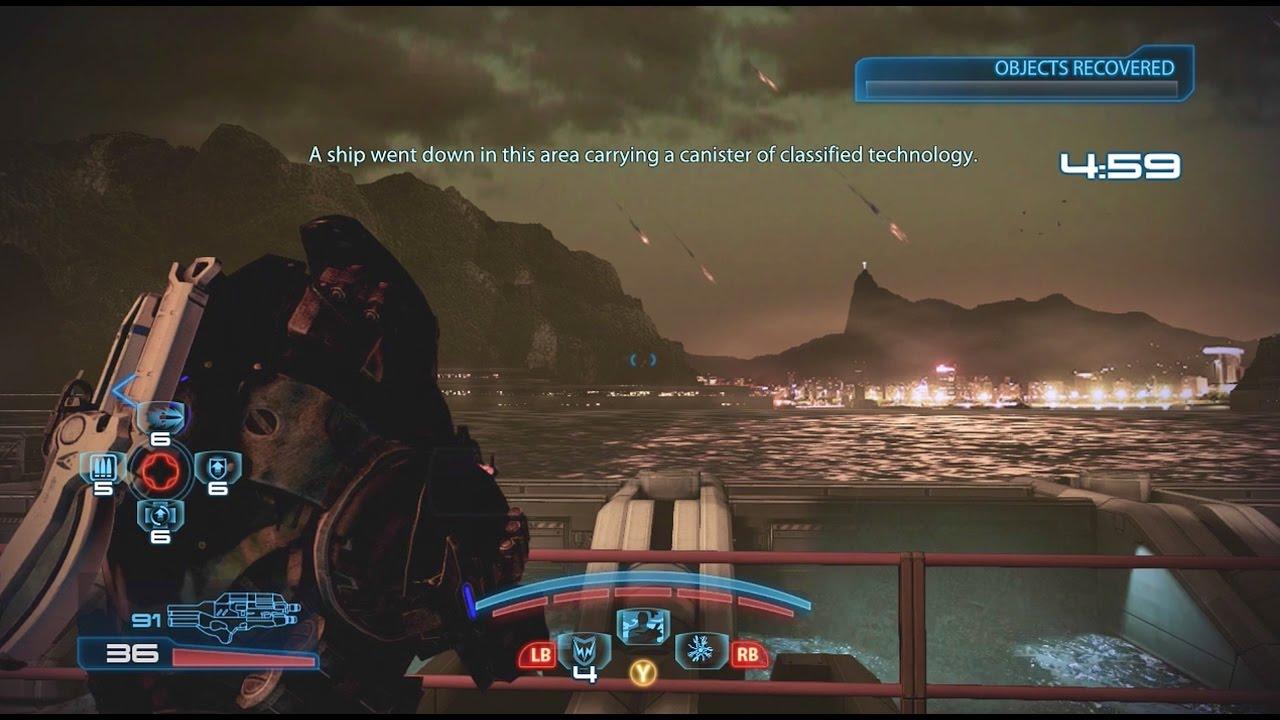 Mass Effect  Infiltrator Build