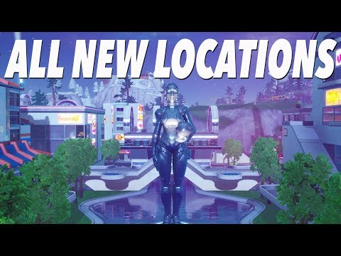All New Map Changes In SEASON 9! (FORTNITE)