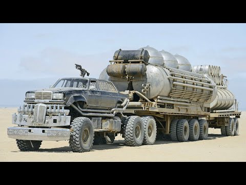 Mad Max Fury Road people Eater Fuel truck exploded no CGI