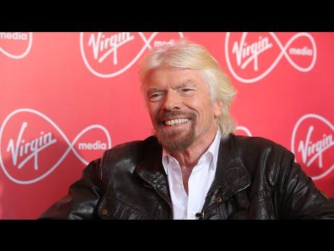Richard Branson in Dublin to talk launch of Virgin Mobile